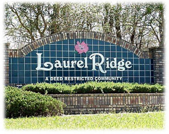 Laurel Ridge Entrance Sign