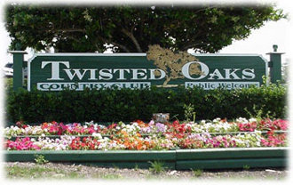 Twisted Oaks Sign
