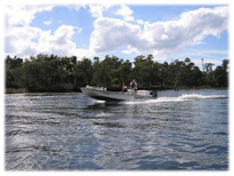 Fishing on the Homosassa River