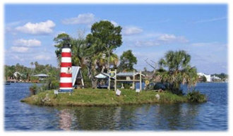 Monkey Island - Homosassa River